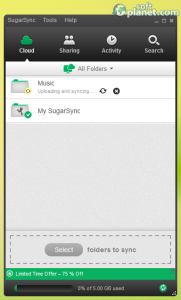 SugarSync Manager Screenshot2