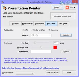 Presentation Pointer Screenshot4