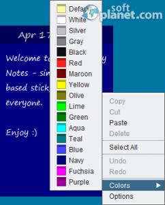 Cloud Sticky Notes Screenshot4