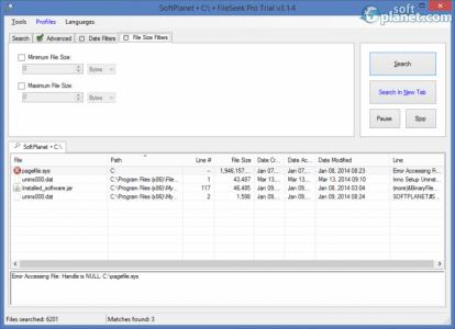 FileSeek Pro Screenshot4
