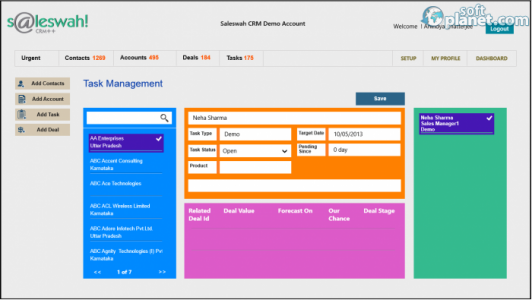 Saleswah Lite CRM Screenshot3