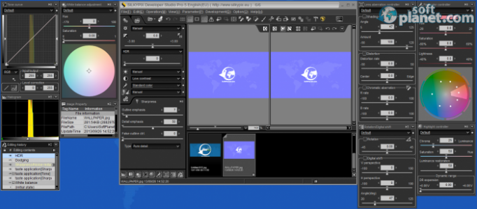SILKYPIX Developer Studio Pro 5 Screenshot5