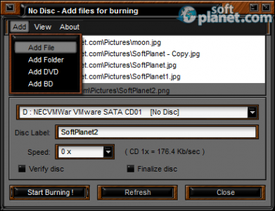 Easy Disc Burner Screenshot2