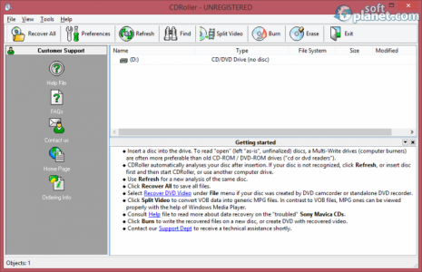 CDRoller Screenshot3