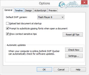 SWF Editor Screenshot2