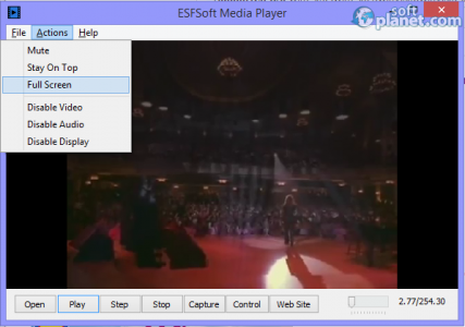 ESFSoft Media Player Screenshot2