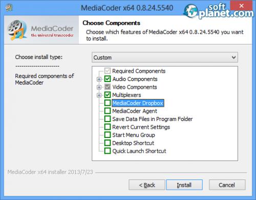 MediaCoder Screenshot2