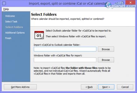 Calendar ImportExport Screenshot3