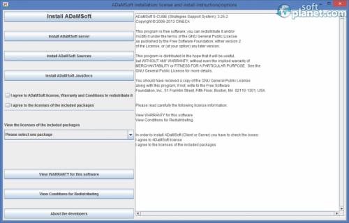ADaMSoft 3.25.2