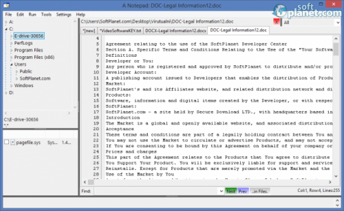 A Notepad 1.4.8
