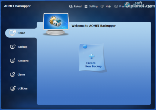 AOMEI Backupper For Win7 1.6
