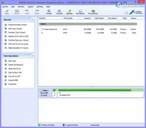 AOMEI Partition Assistant Standard Edition 5.2