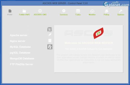ASCOOS Web Server 1.6.1
