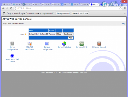 Abyss Web Server X1 2.9.0.1