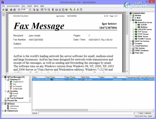 ActFax 5.03