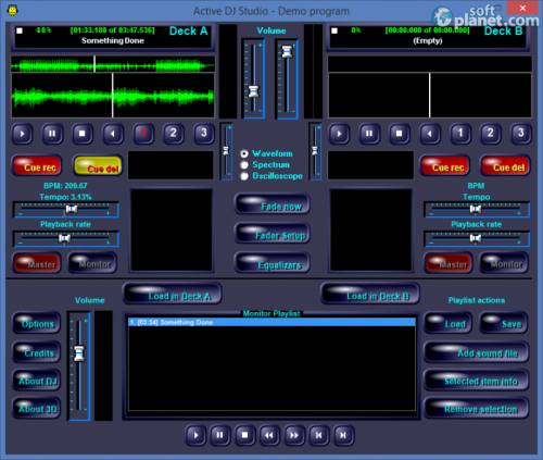 Active MP3 DJ Studio 6.4