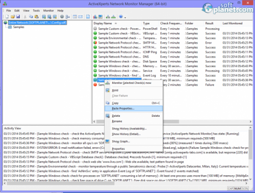 ActiveXperts Network Monitor 8.1.1.40108