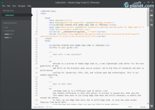 Adobe Edge Code CC 0.98
