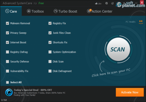Advanced SystemCare 9.1.0