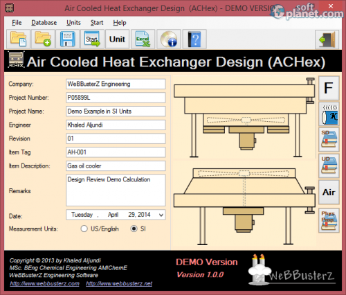 Air Cooled Heat Exchanger Design 1.0.0.0