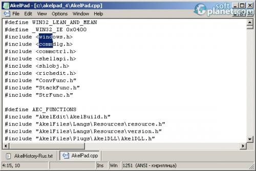 AkelPad 4.9.7