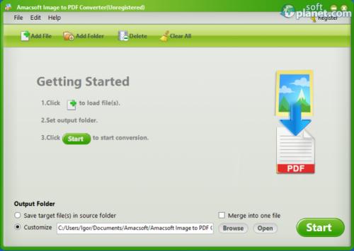 Amacsoft Image to PDF Converter 2.1.11