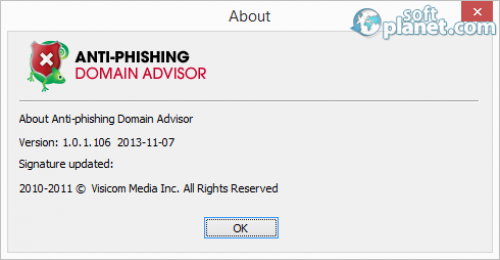 Anti-phishing Domain Advisor 1.3.0.3