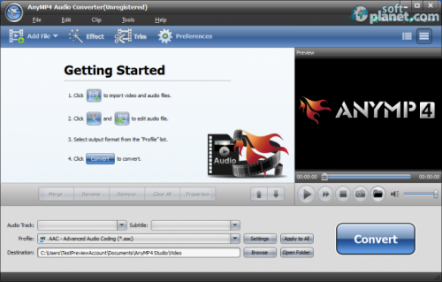 AnyMP4 Audio Converter 6.0.36