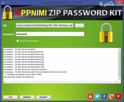 Appnimi ZIP Password Kit 1.0