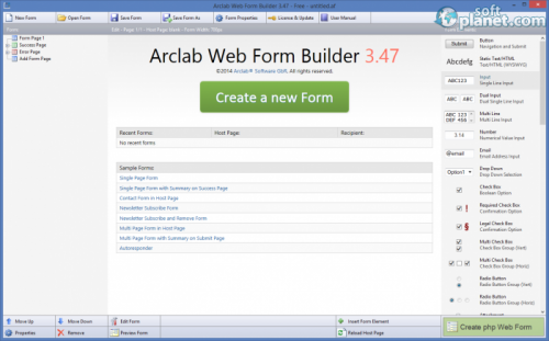Arclab Web Form Builder 3.47