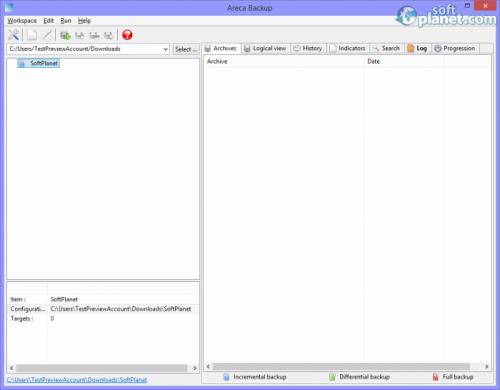 Areca Backup 7.3.7
