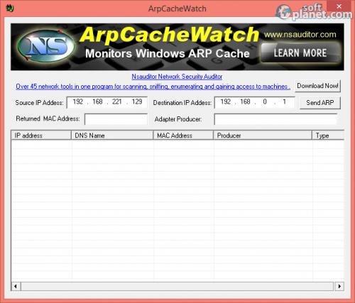 ArpCacheWatch 1.6.2