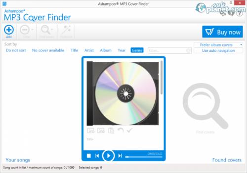 Ashampoo MP3 Cover Finder 1.0.11