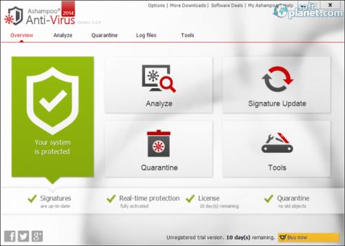 Ashampoo Anti-Virus 2014 1.1.1