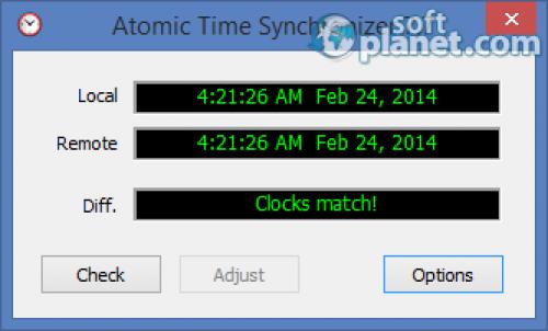 Atom Time Synchronizer 9.1
