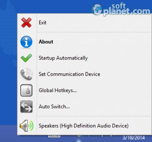 Audio Output Switcher 1.0.4.11