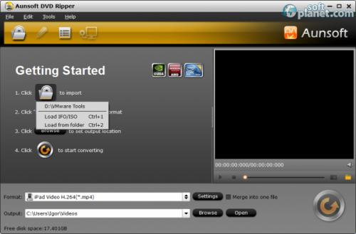 Aunsoft DVD Ripper 2.4.0.5345