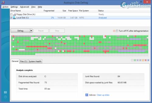 Auslogics Disk Defrag 6.2.0.0