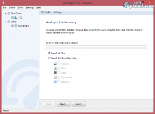 Auslogics File Recovery 5.3.0.0
