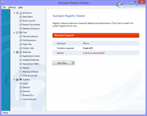 Auslogics Registry Cleaner 5.2.0.0