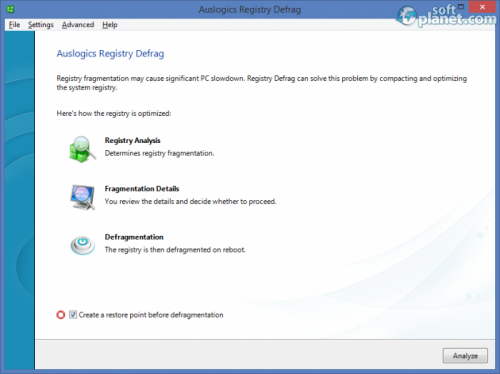 Auslogics Registry Defrag 7.5.4.0