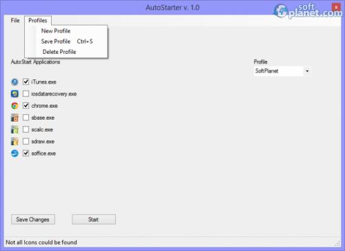 AutoStarter 1.0