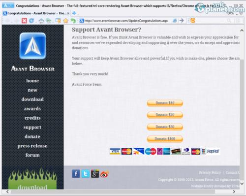 Avant Browser 12.5.0.0