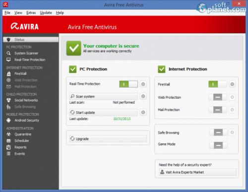Avira Free Antivirus 15.0.9.504