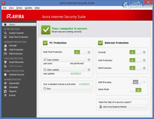 Avira Internet Security Suite 14.0.8.512
