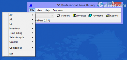 BS1 Professional Time Billing 2014.0