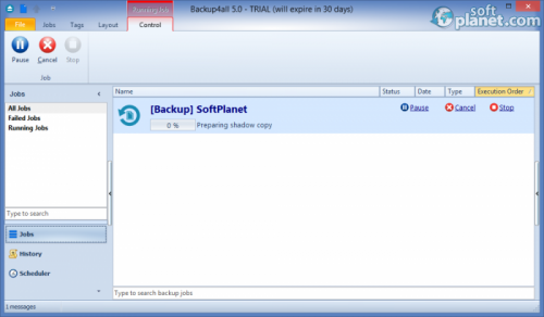 Backup4all Professional 5.0.307