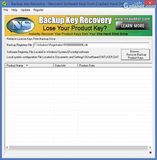 Backup Key Recovery 2.0.7