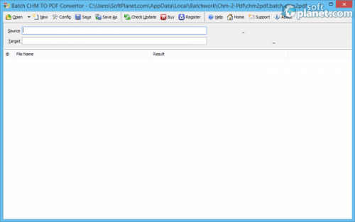 Batch CHM to PDF Convertor 2014.6.116.1388