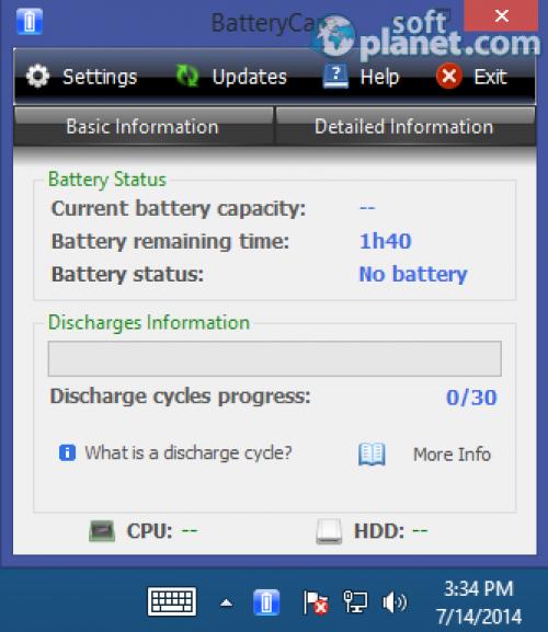 BatteryCare Portable 0.9.18.0